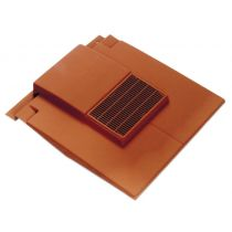 Corovent - Roofline Vent for Plain Tiles with 110mm Dia Pipe Adaptor