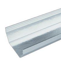Plastic Guttering Squareline - 114mm x 59mm - White (4m)