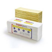 Superglass - Superwall 36 Cavity Wall Batt (1200mm x 455mm x 100mm - 4.37m2)