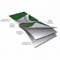 Easy-trim Vista - High Performance Felt Breather Membrane with Acrylic Taping - 162gsm - 1.0m X 50m