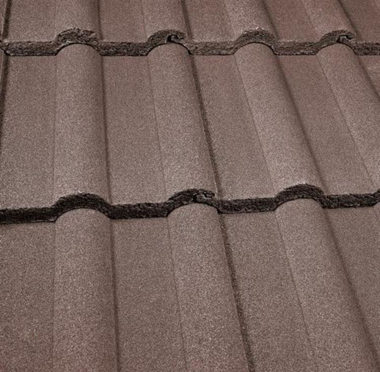 Marley Double Roman Concrete Roof Tiles Pack Of 32 Tiles