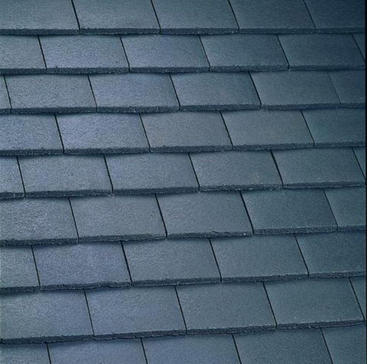 Marley Concrete Plain Roof Tile Pack Of 10 Tiles