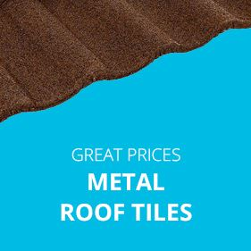 Great Prices on Metal Roof Tiles