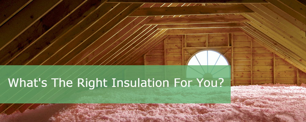 What Is the Right Insulation for an Attic: Faced or Unfaced?