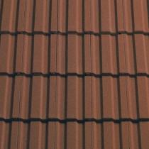 Sandtoft Standard Pattern - Concrete Tile - Sandfaced Mottled Red