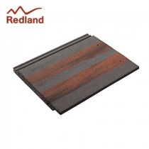Redland Mini Stonewold Tile - Concrete Tile - Smooth Breckland Black (4261)