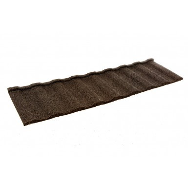 Britmet - Profile 49 Plus - Lightweight Metal Roof Tile - Bramble Brown (0.9mm)