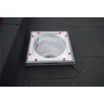 Em-Tube Flat Roof Sun Tunnel to Suit Builders Upstand with Rigid Tubes
