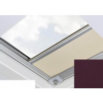 Fakro - ARF/D II 261 - Flat Roof Manual Blackout Blind - Crease Black