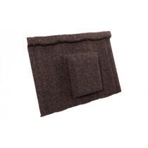 Britmet - Ultratile - Air Vent Tile - Rustic Brown