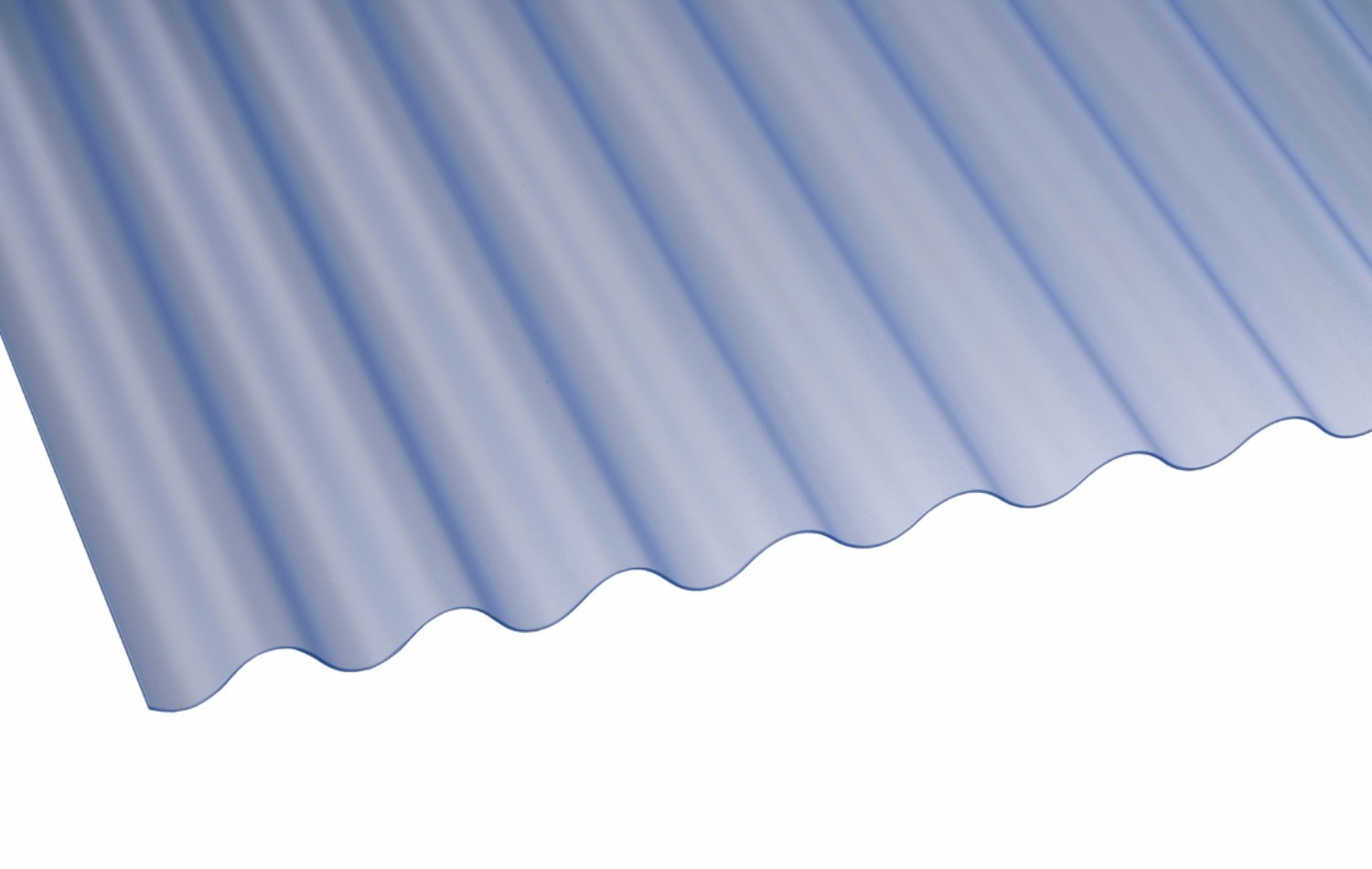 Vinyl Roofing Sheets : Corolux mini corrugated pvc roofing sheet translucent