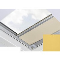 Fakro - ARF/D II 258 - Flat Roof Manual Blackout Blind - Mustard