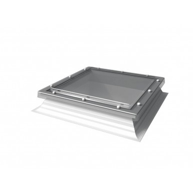 Mardome Hi-Lights - PVC Flat Roof Light - Clear