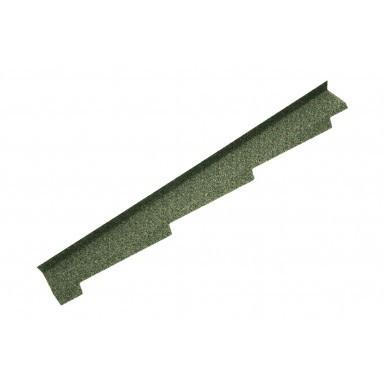 Britmet - Left Hand Side Wall Flashing - Moss Green (1250mm)