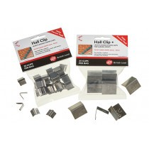 Lead Hall Clips - 50 Clips - British Lead