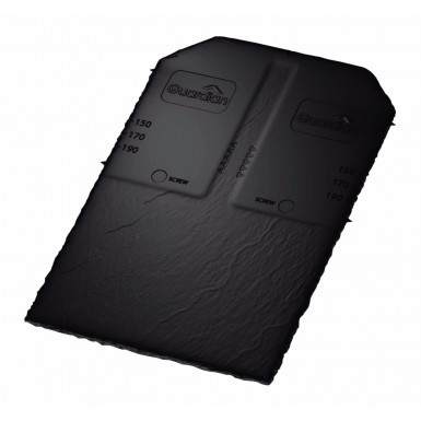 Guardian - Synthetic Slate Tile - Black (Pack of 22)