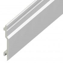 Open V UPVC Cladding Board - 100mm - White (5m)