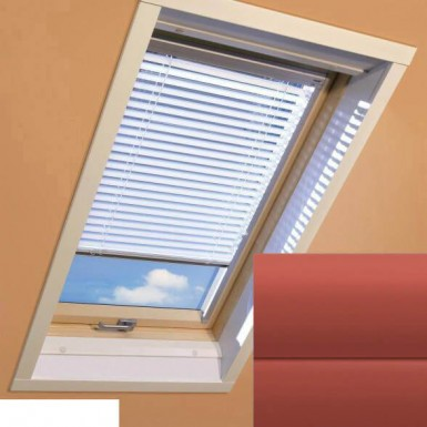 Fakro - AJP II 156 - Standard Manual Venetian Blind - Terracotta