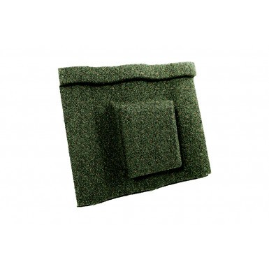 Britmet - Villatile - Air Vent Tile - Moss Green