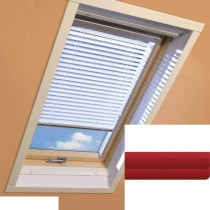 Fakro - AJP II 153 - Standard Manual Venetian Blind - Crimson Red