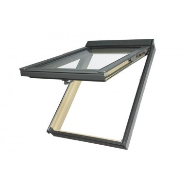 Fakro Roof Window - Top Hung in White PVC - Laminated Double Glazing [PPP-V P2]