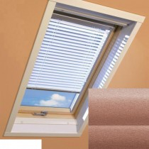 Fakro - AJP II 169 - Standard Manual Venetian Blind - Metalic Bronze