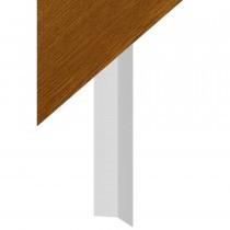 Fascia Board - Roofline Finial - 350mm - Golden Oak