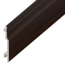 Open V UPVC Cladding Board - 100mm - Rosewood (5m)