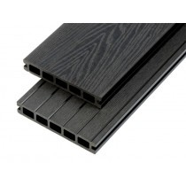 Hollow Woodgrain Composite Decking Boards - 150mm x 25mm