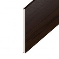Soffit UPVC Board - Flat 100mm x 9mm - Rosewood (5m)