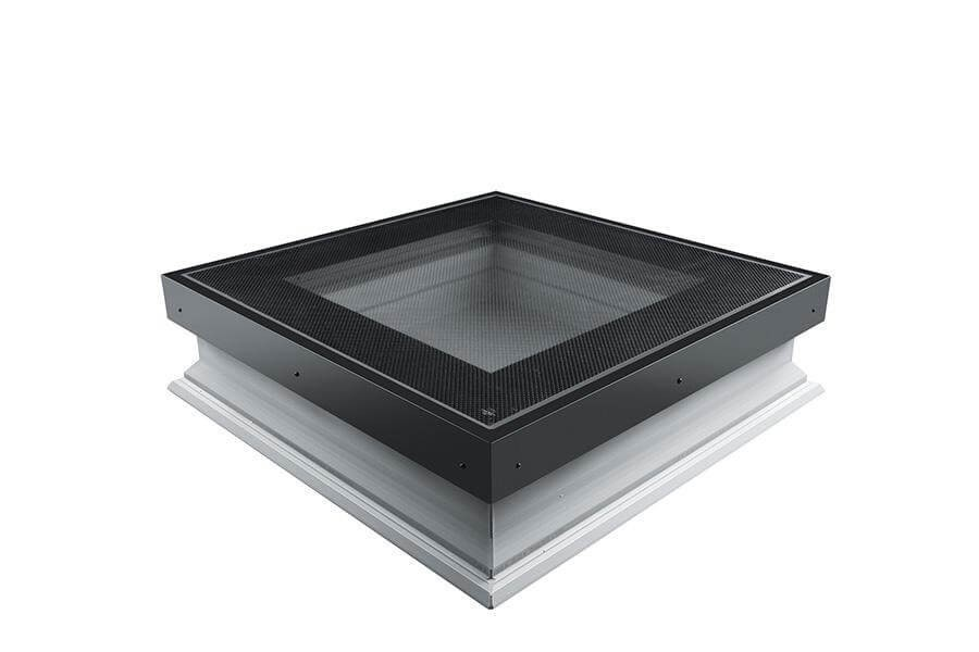 Fakro Flat Roof Window - Flat Walk On and Non-Opening - Passive Double Glazing [DXW-D W6]