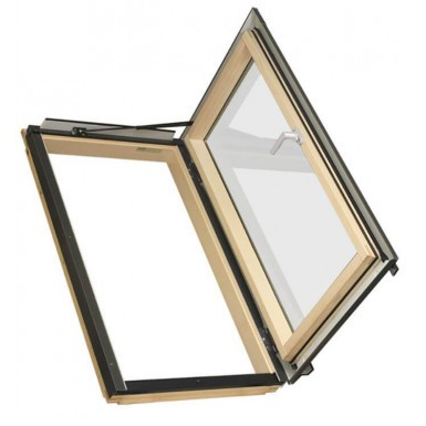 Fakro Roof Window - Side Hung Escape in Pine - Energy Efficient Double Glazing [FWR P2]