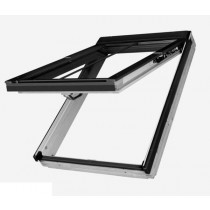 Fakro Roof Window - Conservation Top Hung in White Polyurethane Coated Pine - Laminated Double Glazing [FPU-V/C P2]
