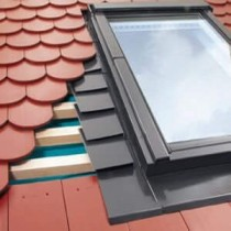 Fakro - Standard Window Flashing - Plain Tile Up To 16mm [EPV]