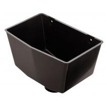 Plastic Guttering - Hopper - Black