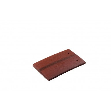 Redland Plain Tile - Concrete Tile - Smooth Premier Rustic Red (6151)