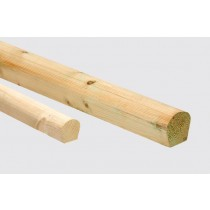 Large Lead Wood Roll - Treated Timber