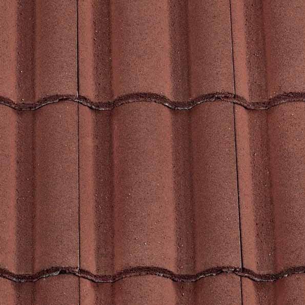 Redland Regent Tile Concrete Tile Granular Antique Red