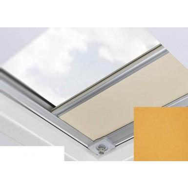 Fakro - ARF/D II 057 - Flat Roof Manual Blackout Blind - Orange