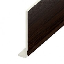 Fascia UPVC Capping Board - Ogee 200mm x 9mm - Rosewood (5m)