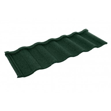 Britmet - Villatile Plus - Lightweight Metal Roof Tile - Tartan Green (0.9mm)