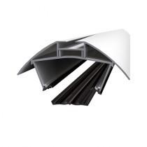 Alukap-XR - Aluminium Ridge - White