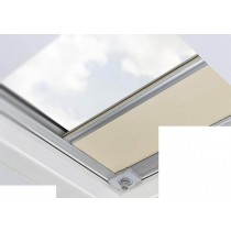 Fakro - ARF/D II 255 - Flat Roof Manual Blackout Blind - White
