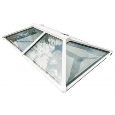 Em-Glaze Modular Roof Lantern with 150mm PVC Vertical Upstand - Rectangle