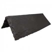 Tapco Aledora Slate - Ridge & Hip - Charcoal Black