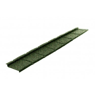 Britmet - Plaintile Plus - Lightweight Metal Roof Tile - Moss Green (0.9mm)