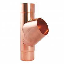 Lindab Natural Copper Guttering - Pipe Branch