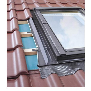 Fakro - Conservation Flashing For Side Hung Escape Window - Tile Profiles Up To 45mm [EZW-A/C]