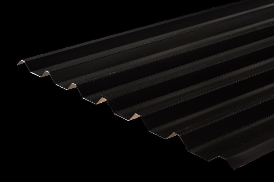 Steel Box Profile Roofing Sheet 34 1000 Pvc Plastisol