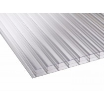 Corotherm 16mm - Triplewall Polycarbonate Sheet - Clear (2500x700x16mm)